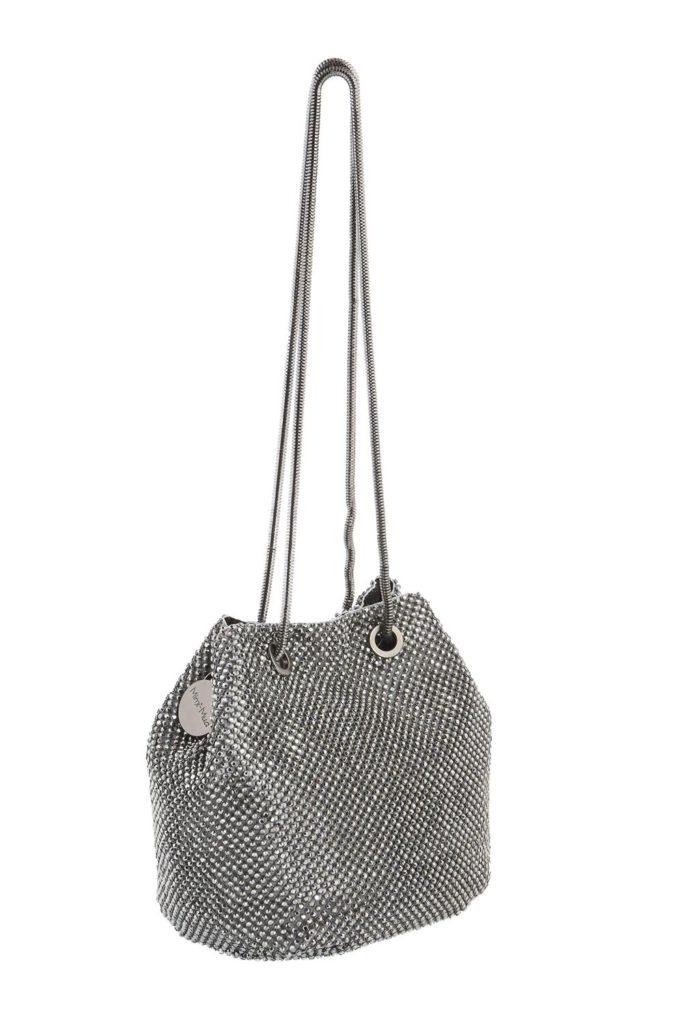 MIMI MUA borsa secchiello con strass canna di fucile - La Chicchera b27aa93842a